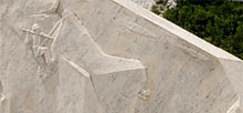Carrara, Colonnata, 360� Panoramic photo, Marble Quarries