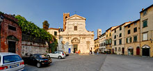 Lucca, Ss. Giovanni e Reparata Church, square 360� panoramic view