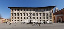 Pisa, Piazza dei Cavalieri, Knights' Square, 360� Panoramic photo